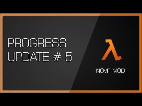 Half Life Alyx - No Vr Mod - Progress Update #5