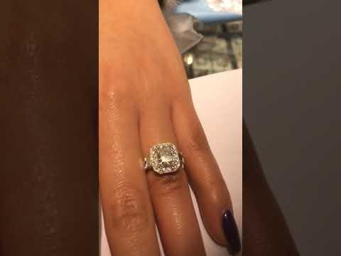 Pear Shape Diamond Rings