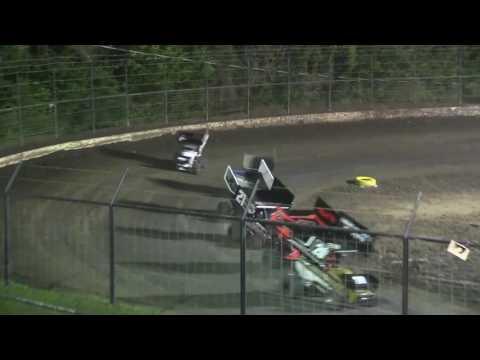 Giovanni Scelzi 5-28-16 Car # 55G Outlaw Main Port City Raceway Tulsa