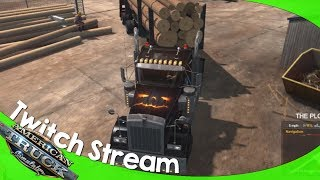 Twitch Livestream: American Truck Simulator Multiplayer 10/26/2018