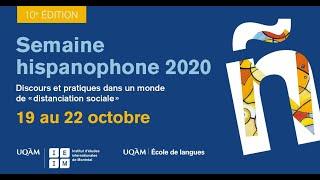 Lancement de la Semaine hispanophone 2020
