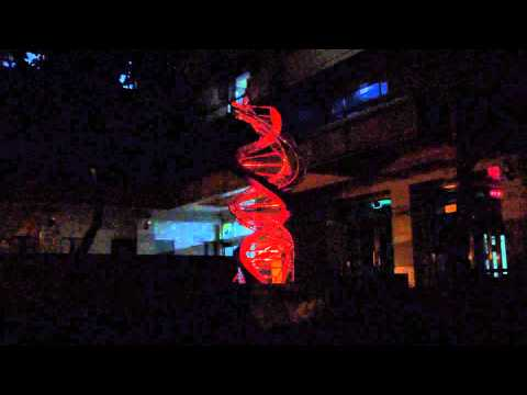 """Fluorescent""  熒光的 DNA molecule at National Central University, Taiwan"