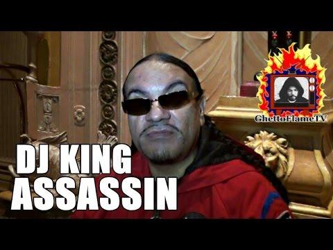 DJ King Assassin: The Origin Of His Name, His Beginnings, Befriending Tupac & More | @GhettoFlameTV