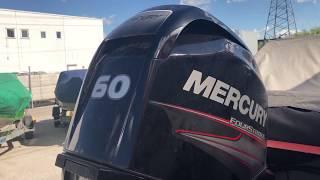 Гидроудар на моторе Mercury F60 . Случай из жизни . Кто виноват и что делать ?