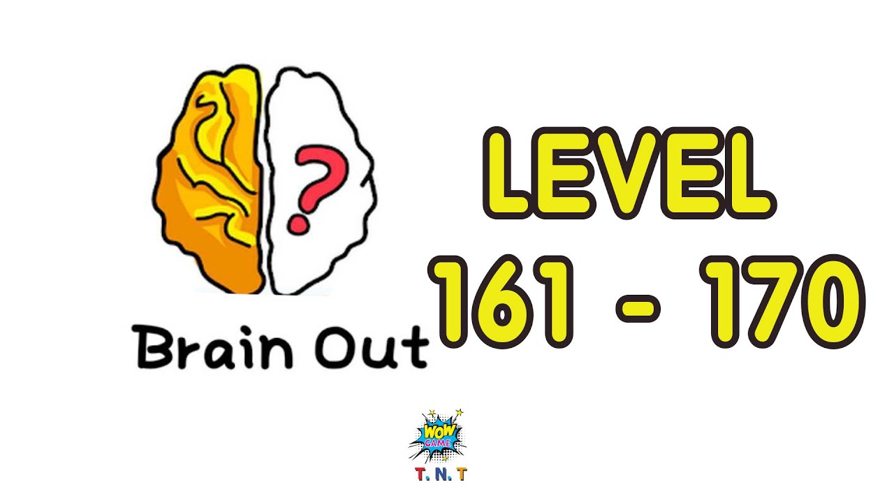 Brain Out Walkthrough Level 161 Level 170 With Answer Hints