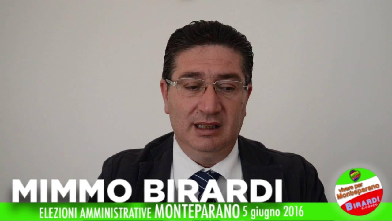 VIVERE PER MONTEPARANO - BIRARDI SINDACO -IL PROGRAMMA ELETTORALE