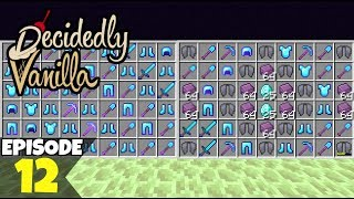 Decidedly Vanilla S5 Ep12 THE BIGGEST RAID! A Minecraft Survival Lets Play