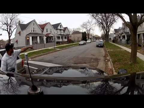 Chicago Police department ride along shooting + arrest all caught on GoPro