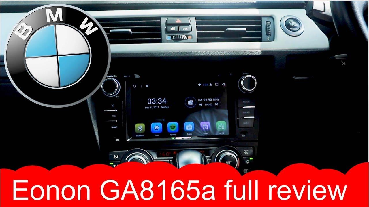 BMW E90 // Eonon GA8165A review