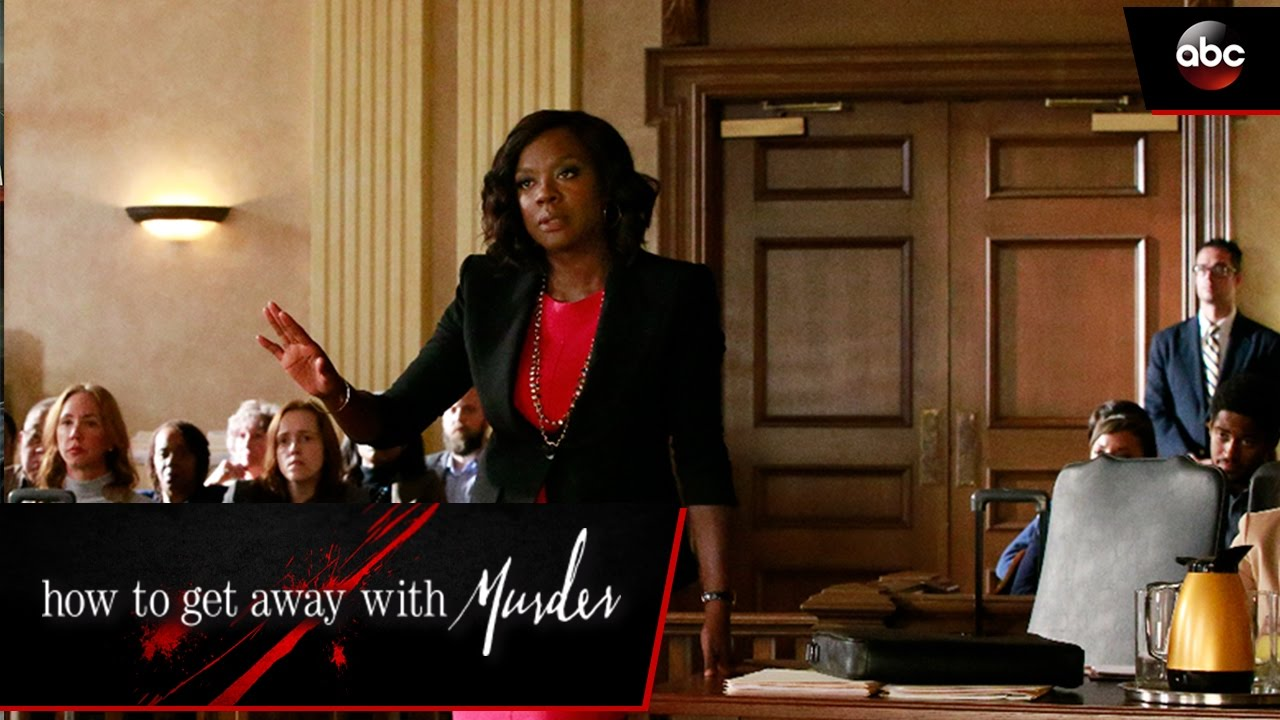 Annalise Gets Her Client Off - How To Get Away With Murder ...