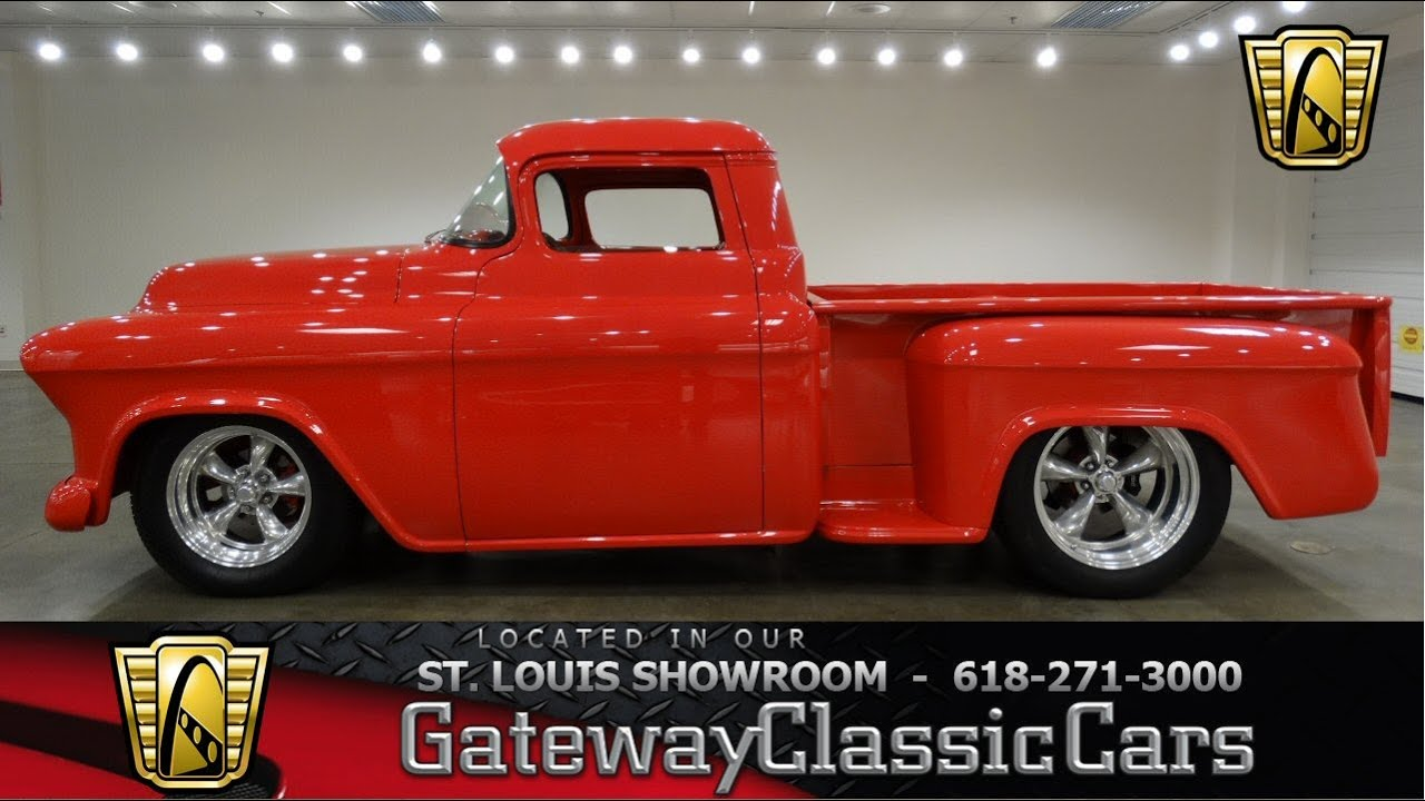 1955 chevrolet truck 3200 standard cab pickup 2 door 3 8l - 1955 Chevrolet Pickup Gateway Gateway Classic St Louis 6635 Youtube