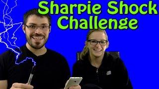 sharpie shock challenge does it work