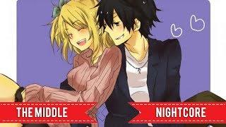 Nightcore - The Middle (Switching Vocals/Lyrics) Resimi