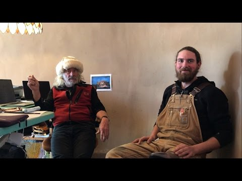 with Michael Reynolds, Earthship Biotecture