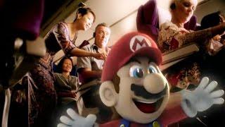 KrisWorld, starring Super Mario   Heritage   Singapore Airlines