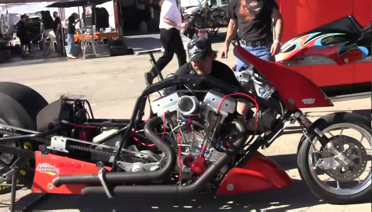 Exploding Top Fuel Nitro Harleys In Las Vegas Youtube