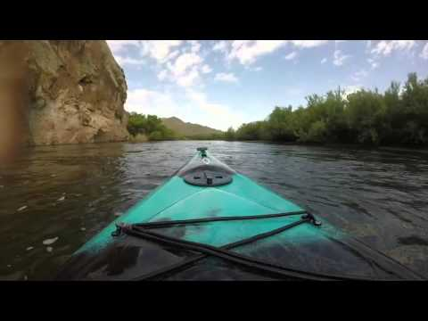Kayaking The Salt River With Bethany & Kevin