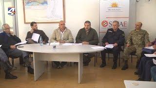 Sinae y Cecoed de Paysandú realizaron una reunión de evaluación del trabajo cumplido en crecientes