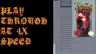 Castlevania Blood Moon Romhack Playthrough at 4X Speed - BAC Gaming Fourplays
