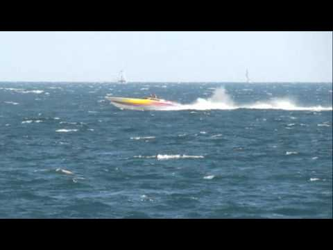 Fast Boats and Yachts Off Fort Lauderdale Beach Jan 5, 2011