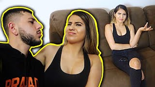 Asking my ex-girlfriend AWKWARD QUESTIONS ABOUT US!!