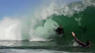 Just a Quick Session in pumping Wedge Shorebreak