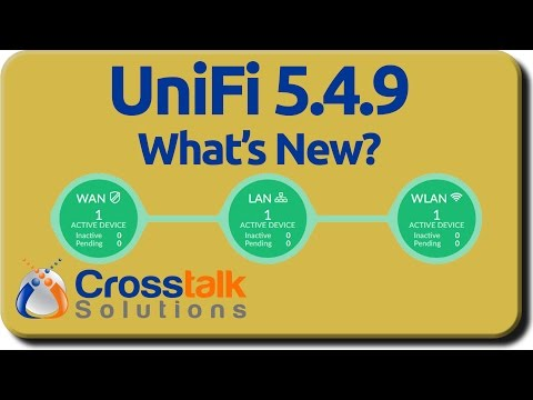 UniFi 5.4.9 - What's New?