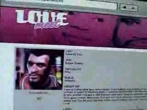online dating on gta iv