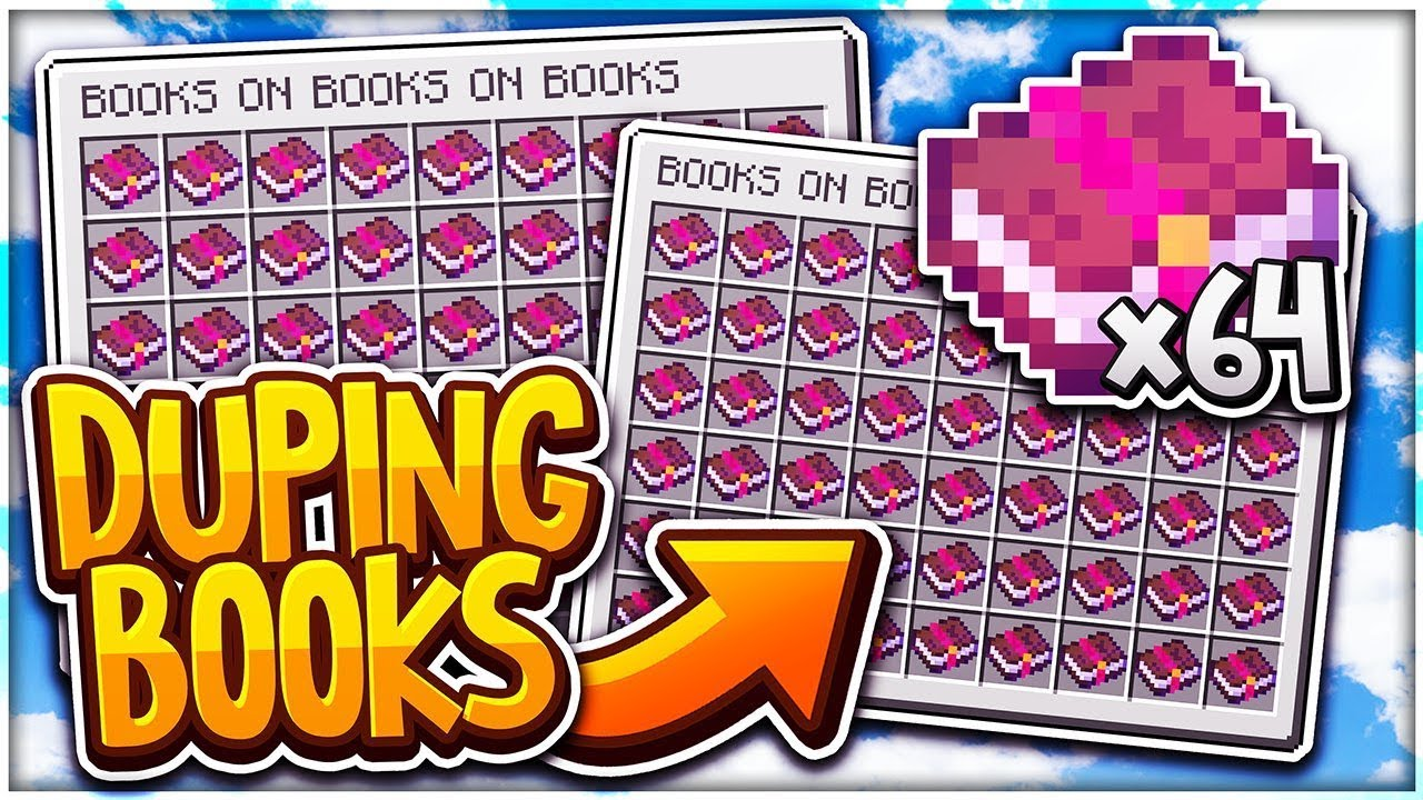 HOW TO DUPE BOOKS ON COSMIC (LEGIT) | Minecraft Factions