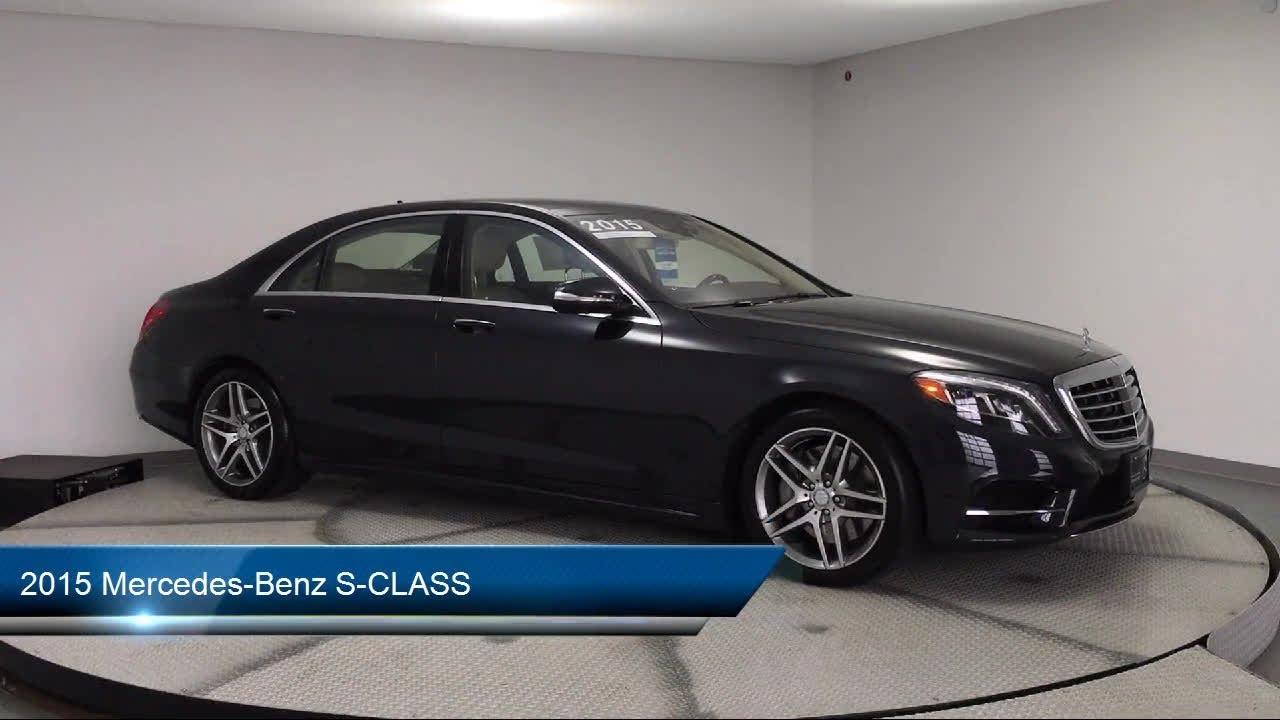 2015 Mercedes-Benz S-CLASS Des Moines Urbandale Newton ...