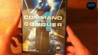 (C&C) Command & Conquer Tiberium Twilight Video 2010 Game Unboxing-Overview HD 720P