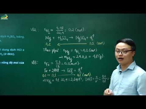 Hóa học lớp 10 – Phương pháp giải bài tập theo phương trình phản ứng | Thầy Trần Thanh Bình