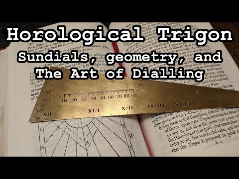 Horological Trigon: Sundials, geometry, and the The Art of Dialling