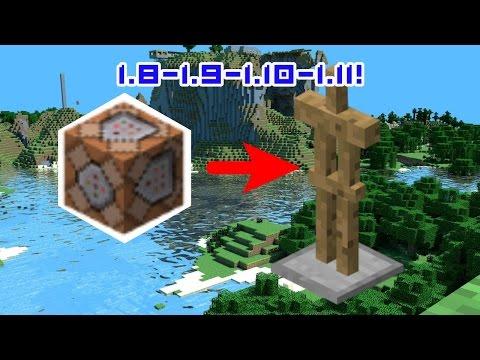 [Minecraft] CREER DES DECOS AVEC DES ARMOR STANDS!!! (1.8-1.9-1.10-1.11)
