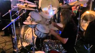 rock and roll ribs 6th anniversary nicko mcbrain playing run to the hills