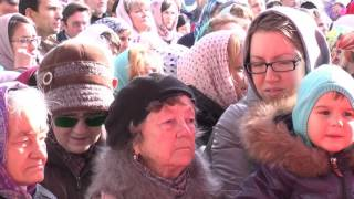 Молебен у Спасского храма 5.10.2015 г. Иркутск(5 октября 2015 года в Иркутске состоялся крестный ход во главе – мощи святого князя Владимира. На видео - молеб..., 2015-12-10T08:05:18.000Z)