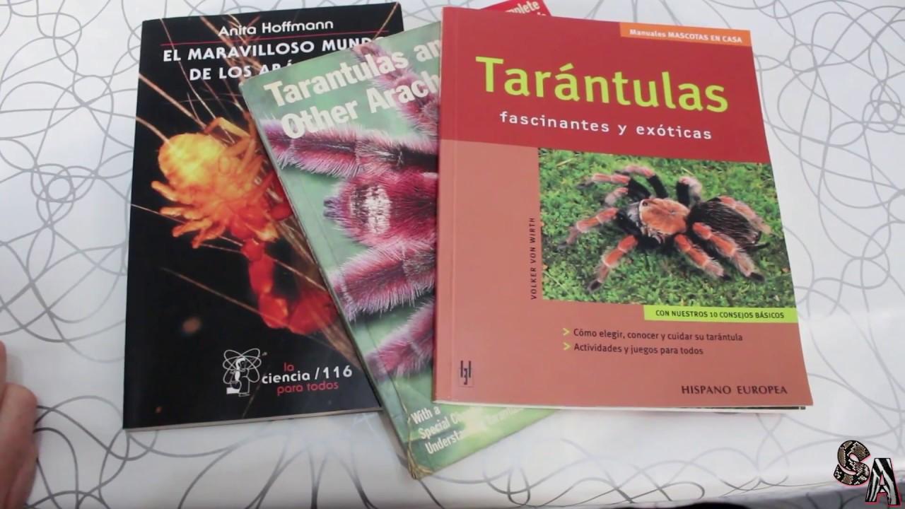 Libros sobre Arácnidos Vol 1 (Tarántulas, Escorpiones, Arañas..etc ...