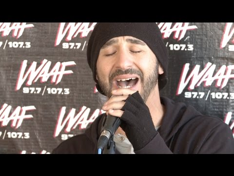"Sully Erna performs ""Don't Comfort Me"" on the Hill-Man Morning Show"