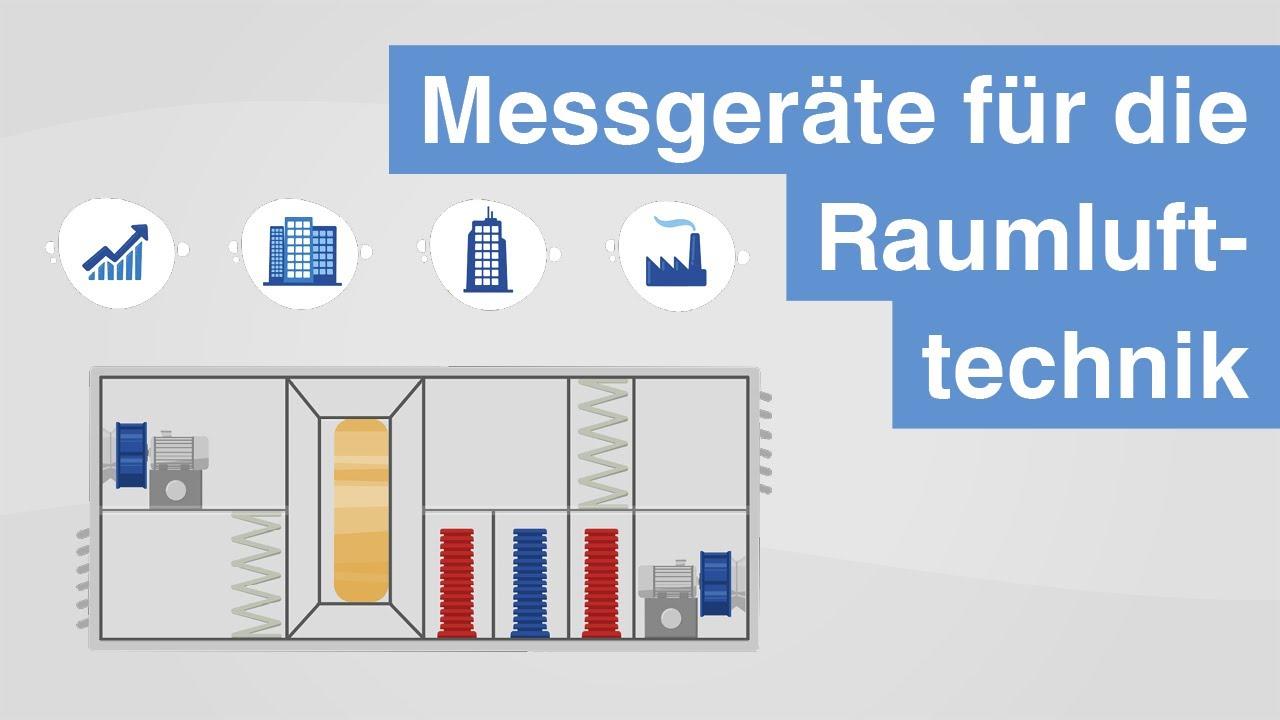 Messgeräte für die Raumlufttechnik | RLT-Geräte nach Richtlinie 2009/125/EG richtig überwachen