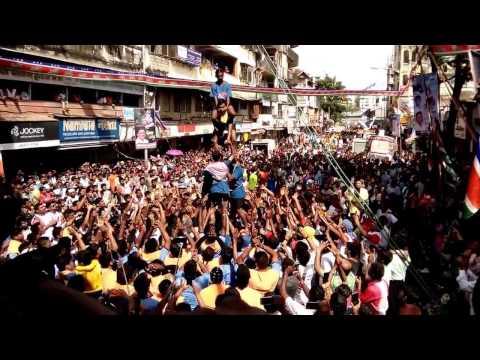 mumbai-Dadar Dhahi handi Gopalkala blind group Dadar