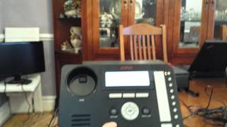 Transfering to Voicemail using the Avaya IP office