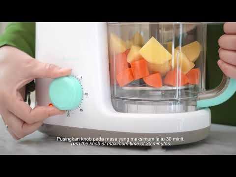 Autumnz 2-in-1 Baby Food Processor