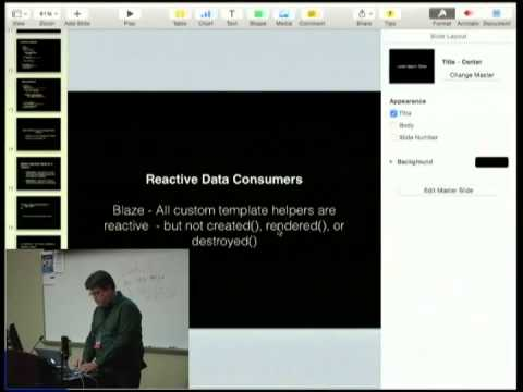 Meteor and Reactive Programming