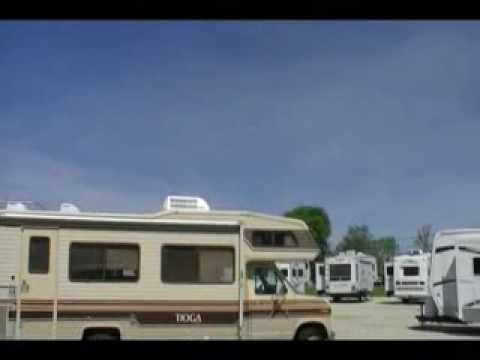 hqdefault 1986 fleetwood tioga class c motorhome youtube  at bayanpartner.co