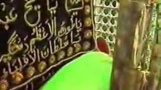 inside roza mubarak of Hazrat Ghous e Azam Dastegeer Al Sheik Abdul Qadir Jilani R A
