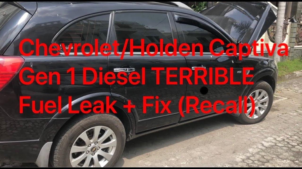 Chevrolet Holden Captiva Gen 1 Diesel Terrible Fuel Leak Fix