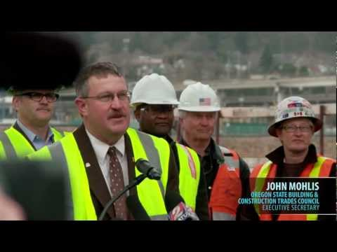 Construction Jobs with Portland-Milwaukie Light Rail