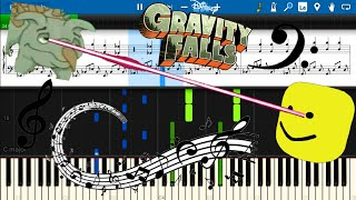 'Roblox Death Sound' and 'Yee' Sings Gravity Falls Main And Finale Theme