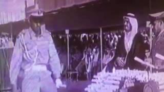 شاهد.. لحظة تسلم الهويريني شهادة تخرجه كملازم من الملك فهد