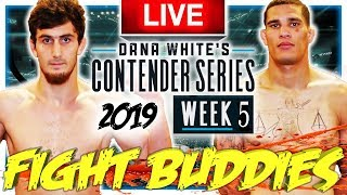 🔴 Dwcs Week 5 Mckinney Vs Woodson  Kuramagomedov Vs Williams Live Fight Reaction